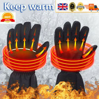 Battery Heated Gloves Thermal Liners Inner Motorcycle Mens Ladies Waterproof