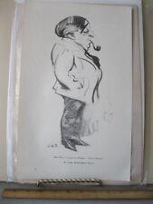 Vintage Print,JOHN MASON,Augustus Thomas',Indian Summer,Harpers