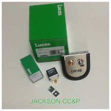 LUCAS SPB703 FOG OR SPOT LAMP SWITCH,HOLDER,WARNING LIGHT AND RELAY CLASSIC SET