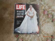 Life Magazine June 18, 1971 white house bride Tricia nixon in her wedding dress