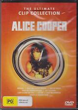 ALICE COOPER - THE ULTIMATE CLIP COLLECTION - DVD - NEW