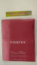 ROSAMOR WOMEN OSCAR DE LA RENTA 3.4/ 3.3 OZ/100 ML EAU DE TOILETTE EDT SPRAY NIB