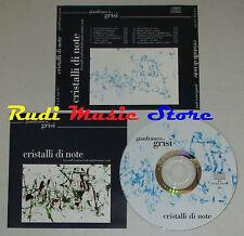 CD GIANFRANCO GRISI Cristalli di note krystall symfoni fodt midtsommer(Xi3)lp mc