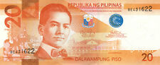 20 PHP Philippine pesos NGC (new style) crisp uncirculated bills currency