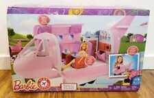 Mattel Barbie Pink Passport Glamour Vacation Jet Airplane DMR53 NEW