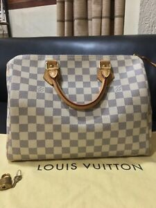 Louis Vuitton Speedy 30 in Damier Azure