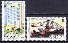 DDR 1981 Mi. Nr. 2593-2594 Postfrisch ** MNH