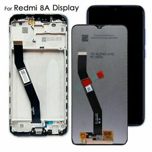 For Xiaomi Redmi 8 8A LCD Display 6.22' LCD Touch Screen Digitizer Frame Black