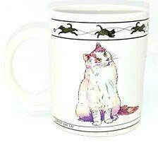 Houston Harvest Coffee Mug Cup Cat Lovers Limited Chartreux Turkish Van 10 oz