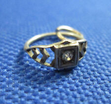 VINTAGE STERLING SILVER ENGAGEMENT RING CHARM