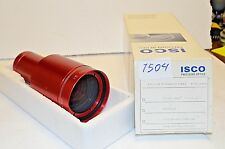 iSCO OPTIC RED Ultra Star HD Plus 42.5mm 35mm Cine Projection Lens Minty!