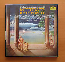 DG 2740 180 Mozart Mitridate Re Di Ponto Auger Baltsa Hager 4xLP NM/EX + booklet