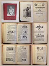 Hahn Illustriertes Kochbuch 1925 Nachschlagebuch Kochen Klassiker Rezepte xz