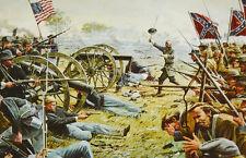 American Civil War Battle Of Gettysburg Dale Gallon Art Magnet Picketts Charge