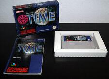 Nintendo Super Snes Illusion of Time PAL HOL CIB Complete