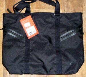 Nike Duffle Bag  19 Litres BZ9816-010 - BLACK Travel/Gym Bag