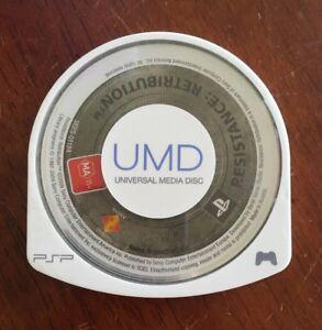 Resistance: Retribution - Sony PSP PlayStation