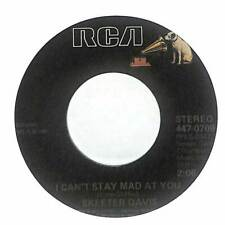 """Skeeter Davis - I Can't Stay Mad At You  - Import - 7"""" Record Single"""