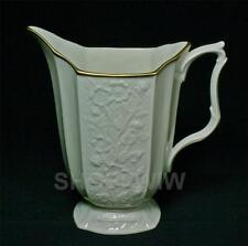 Vintage Lenox Carolina Bisque China Footed Pitcher 1970s