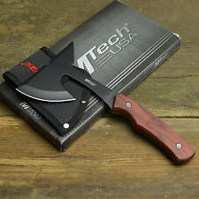 "9"" Tactical Survival Tomahawk Throwing Axe Hatchet With Sheath Camping Emergency"