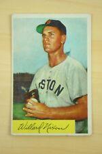 1954 Bowman Set Break #114 Willard Nixon Excellent