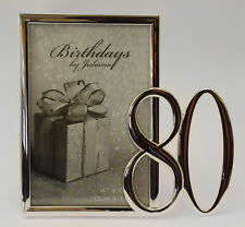 "Birthdays by Juliana Silverplated Photo Frame 4"" X 6"" - 80"