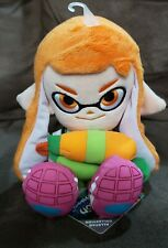 Inkling Girl Plush (Sanei) Official Genuine Nintendo Splatoon
