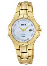 Seiko SUT168 Sut168p9 Coutura Ladies Solar Diamond Gold Watch