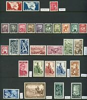 FABULOUS LOT OF SAAR  MINT STAMPS  HINGED ORIGINAL GUM HIGH CATALOG VALUE