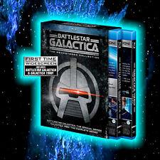 BATTLESTAR GALACTICA REMASTERED COLLECTION 8 DISCS BLU-RAY L@@K