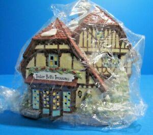 "Disney Parks Village Series, ""Tinker Bell's Treasures"" Department 56, NIB"