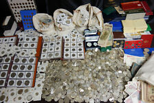 World Coin Collection Lot Mostly Loose Old silver 168 Pounds