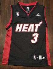 NBA Basketball Miami Heat Dwyane Wade Adidas Jersey Youth Kids Small (8)
