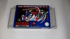 Ninja Warriors The New Generation - PAL  - Super Nintendo - Snes - Only Box