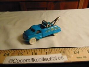Vintage 1950's Acme Tow Truck Wrecker Towing Day or Night Service Hook Works