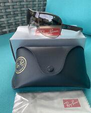 New Authentic Ray Ban Sunglasses RB3471 Hybrid Gunmetal w/Brown Gradient Lenses