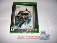 * New * Sealed * Batman Return To Arkham - Microsoft Xbox One  Asylum + City