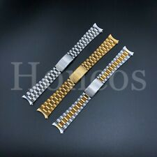 20 MM President Jubilee Watch Band Bracelet Fits for Invicta Steel Vintage Clasp
