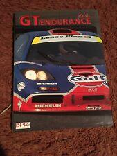 1996 GT ENDURANCE BOOK - Le Mans 24 - McLaren GTR - Porsche GT1 - Ferrari F40