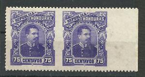 HONDURAS, SC # 60, PAIR VERTICALLY IMPERFORATED, MNH, VF