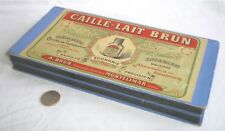 BELLE BOITE PUB ANCIENNE CAILLE LAIT BRUN MONTELIMAR (DROME)