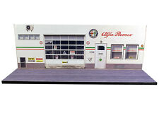 Diorama Présentoir Alfa Romeo - 1/43ème - #43-2-d-d-001