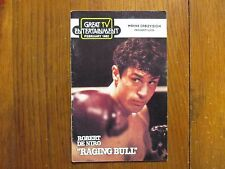 February-1982 Great Tv Entertainment Magazine(Raging Bull/Popeye/The Competition