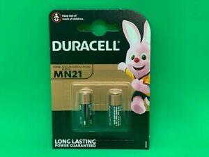 DURACELL MN21 ALKALINE BATTERIES 12V A23/23A/V23GA/LRV08/BLR932