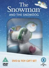 The Snowman And The Snowdog Region 2 New DVD + Toy Gift Set