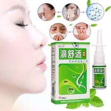 Rhinitis Nasal Spray Natural Herbal Treatment Allergic Sinusitis Congestion