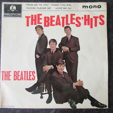 THE BEATLES / THE BEATLES HITS EP ( FIRST PRESS 1963 ORIG EX-/ EX )