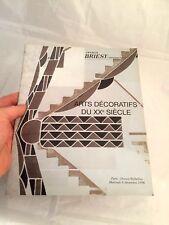 CATALOGUE VENTE ART DECORATIFS XX° ART DECO  PARIS 1996 - 28 pages