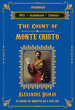 The Count of Monte Cristo - Unabridged MP3 CD Audiobook in DVD case