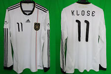 2010-2011 Germany Deutschland Player Jersey Shirt Trikot Klose Home #11 L/S XL